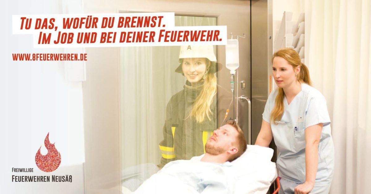 Werbekampagne der 8 Neusässer Feuerwehren