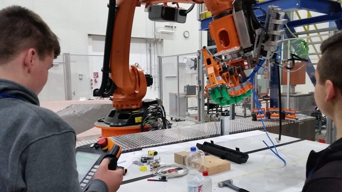 Besuch beim Deutschen Zentrum für Luft- und Raumfahrt